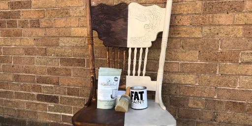 Bring Your Own Piece Furniture Painting Class