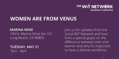 The WIT Network  SoCal - Women are from Venus