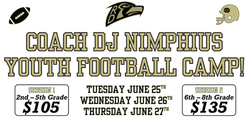 Coach Nimphius Youth Football Camp