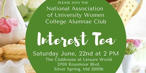 Membership Interest Tea