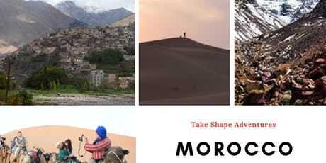 Morocco - a journey of adventure, hiking and discovery tickets