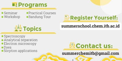 Chemistry Summer School at Institut Teknologi Bandung