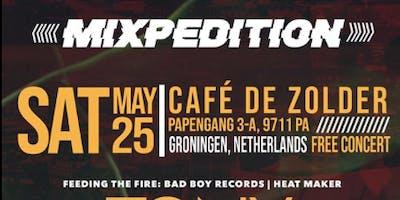 """Groningen, NL -Bad Boy ENT. Heat Maker \""""Tony Dofat\"""" & Company"""