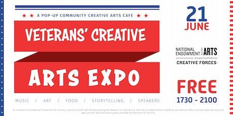 Veterans' Creative Arts Expo tickets