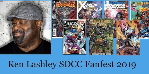 Ken Lashley SDCC Fanfest 2019