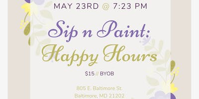 Sip n Paint: HappyHours (At An Art Gallery)