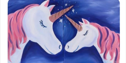 Sold Out! Mom & Me Unicorns Paint Event-Taunton