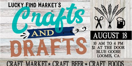 Crafts & Drafts at Lucky Find Market tickets
