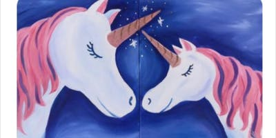 Mom & Me Unicorns Paint Event-Fall River (1 Ticket For Both)