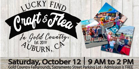 Craft & Flea In Gold Country tickets