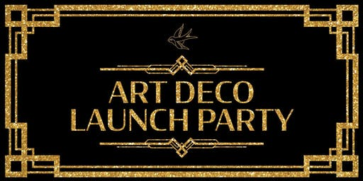 Erstwilder's Art Deco Launch Party