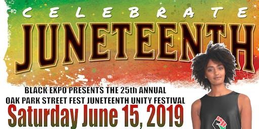 25TH ANNUAL OAK PARK STREET FEST SACRAMENTO JUNETEENTH UNITY FESTIVAL