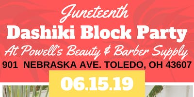 Juneteenth Dashiki  Block Party