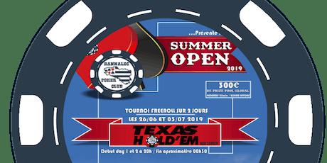 Summer Open by Poker Club Bannalec billets
