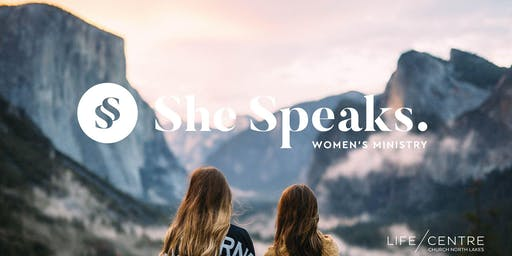 She Speaks Women's Event