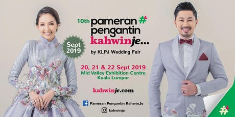 Pameran Pengantin KahwinJe by KLPJ Wedding Fair (SEPTEMBER 2019) tickets