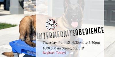 Six Weeks to Success - June Intermediate Obedience Class
