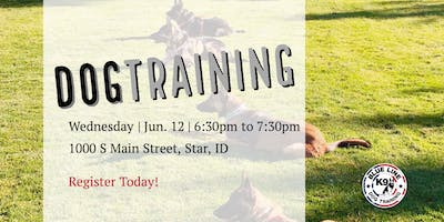 Six Weeks To Success - June Dog Obedience Class