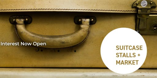 SKCC Suitcase, Stalls Indoor Market.