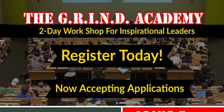 The G.R.I.N.D. Academy Conference tickets