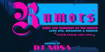 Latin Nights at Rumors
