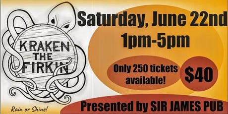 Kraken the Firkin Fest tickets