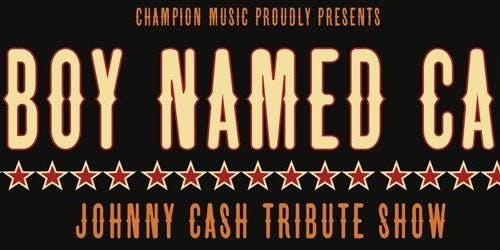 Monty Cotton A Boy Named Cash Tribute Show