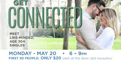 Get Connected- Singles 30+ Event- Matchmaker Hosted Speed Dating