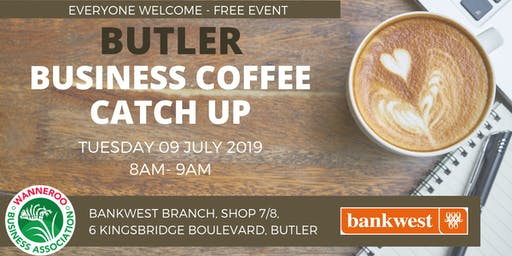 Networking Business Coffee Catch Up - Butler