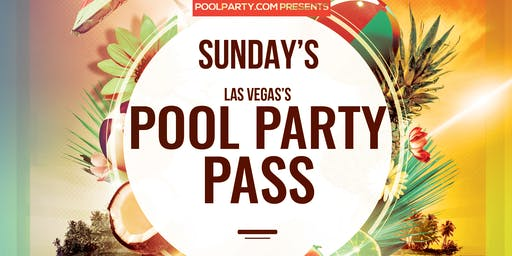Sunday's Pool Party Pass (TAO Beach, Marquee Dayclub & TAO Nightclub)