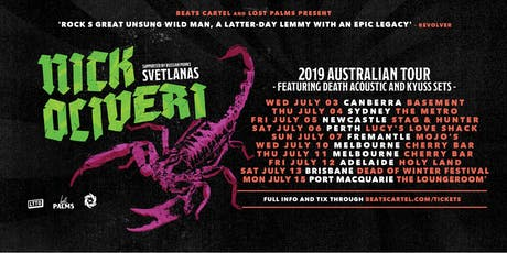 Nick Oliveri & Svetlanas Tour | Melbourne tickets