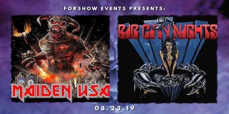 Iron Maiden & Scorpions Tributes tickets