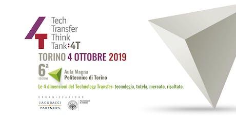 4T: Tech Transfer Think Tank 2019 biglietti