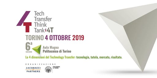 4T: Tech Transfer Think Tank 2019