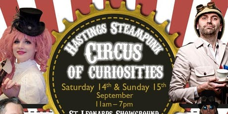 Hastings Steampunk Circus of Curiosities Weekender 2019 tickets
