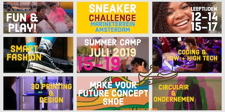 Summer Camp: Sneaker Challenge voor jongeren (12-17 jr) tickets