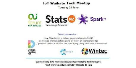 IoT Waikato June Tech Meetup tickets