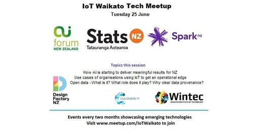 IoT Waikato June Tech Meetup