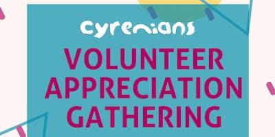 Cyrenians Volunteer Appreciation Gathering