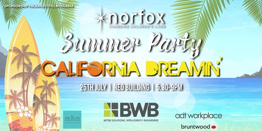Norfox Summer Party 2019 | California Dreamin'