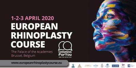European Rhinoplasty Course 2020 tickets