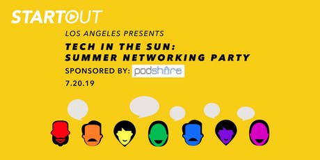 Tech in the Sun: Summer Networking Party tickets
