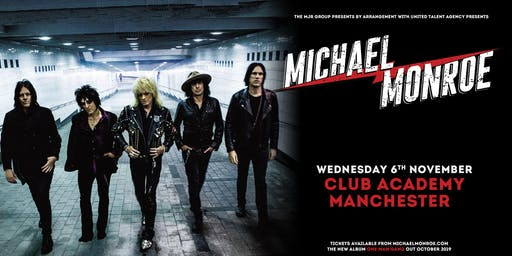 Michael Monroe (Club Academy, Manchester)