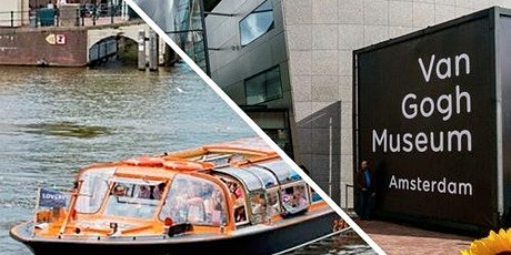 Van Gogh Museum & Canal Cruise tickets