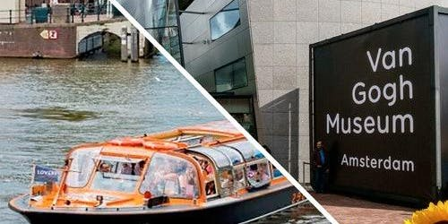 Van Gogh Museum & Canal Cruise