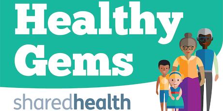 Healthy Gems - Chadderton Library tickets