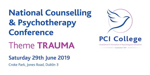 National Counselling & Psychotherapy Conference 2019