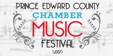 2019 Prince Edward County Chamber Music Festival billets