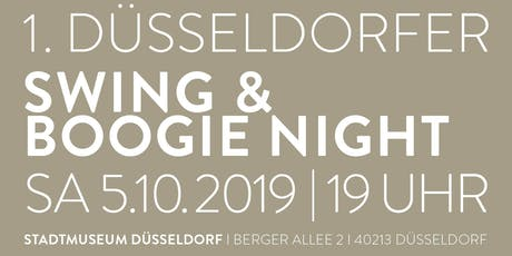 1. DÜSSELDORFER SWING & BOOGIE NIGHT Tickets