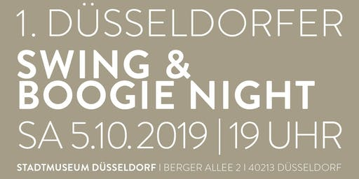 1. DÜSSELDORFER SWING & BOOGIE NIGHT